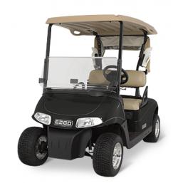 Машинка для гольфа RXV-F-E-BL черная,  E-Z-GO