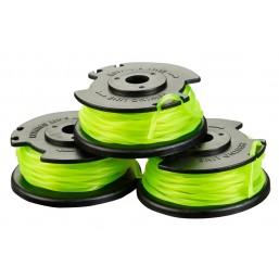 Катушка с леской для триммера 3х2.0 мм, зеленая, триммеры RLT36/RLT36C3325