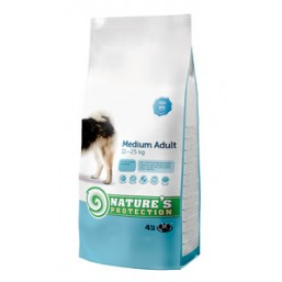 Natures Protection Medium Adult 4kg dog food