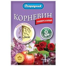 Стимулятор корнеобразования Корневин Огородник® 4г (900шт.)