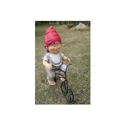 Садовая фигурка Ребенок на велосипеде MG2514711 (4)  GS