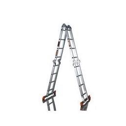 30216074 Ал. лестница шарнирная (4х4), Н=4,5/5,4м  (ТL4044) Алюмет