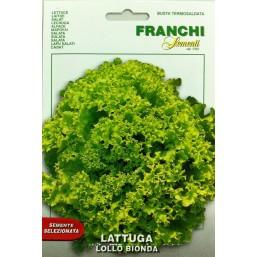 Салат Латук Riccia Lollo Bionda (5 гр) DBO 78/23   Franchi Sementi