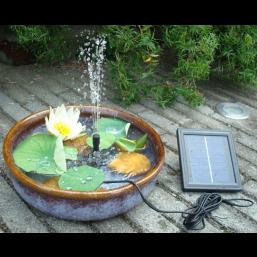 Насос фонтанный на солнечной батарее OLIVE CH-3000