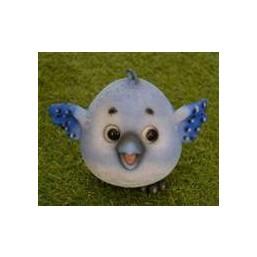Садовая фигурка Сойка голубая, круглая BJ122226-4(6)  GS