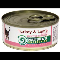 NP Cat Sensible Digestion Turkey&Lamb 100g cat food