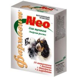 Фармавит НЕО для щенков 90т. энергия роста