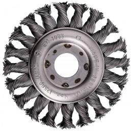 Щетка дискообразная со скруткой Ø115/0,5/М14 (614 062) Protool
