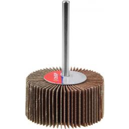 """Круг шлифовальный ЗУБР """"МАСТЕР"""" веерный лепестковый, на шпильке, тип КЛО, зерно-электрокорунд нормал (36604-320)"""