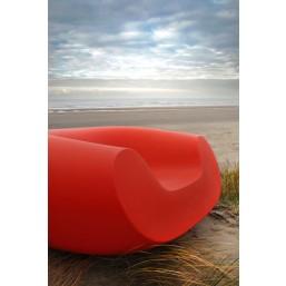 Кресло садовое Chubby, красное, 130x120см, h-56 (SDWCH056D)   SLIDE Италия