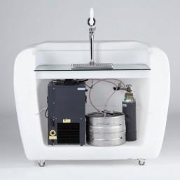 Диспенсер для пива и охлаждающая система