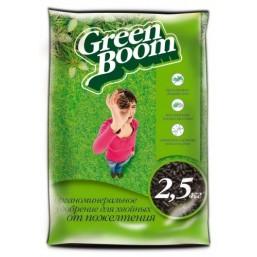 Удобрение органоминеральное сухое, гранулированное, с микроэлементами Green Boom®  От пожелтения хвои