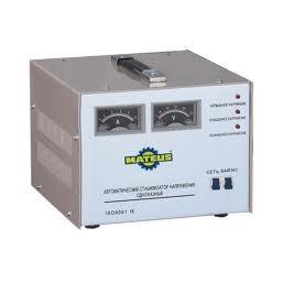 Однофазный стабилизатор напряжения Mateus SVC-500VA