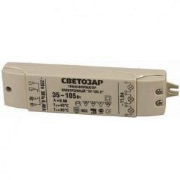 Трансформатор СВЕТОЗАР электронный для галогенных ламп напряжением 12В, 2 входа/3 выхода с двух сторон (SV-44963)