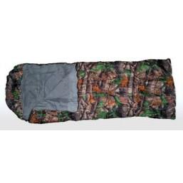 Спальный мешок камуфляж с этикеткой 13256