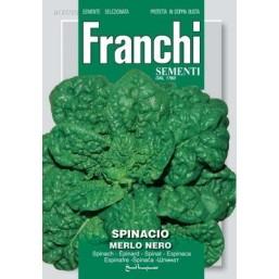 "Семена ""Шпинат MERLO NERO"" 1 кг 127/20 Franchi Sementi"
