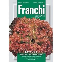 """Семена """"Салат Латук Riccia Lollo Rossa"""" 100 гр 78/17 Franchi Sementi"""