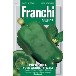 "Семена ""Перец зеленый, сладкий Yolo Wonder"" 50 гр 97/59 Franchi Sementi"