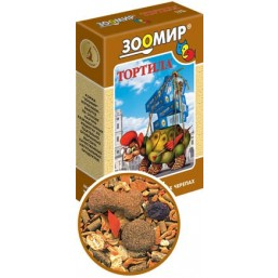 Тортила корм д/сух. черепах 170 гр (24)