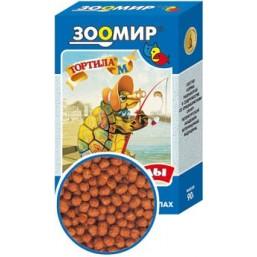 Тортила - М корм д/вод. черепах  гранулы1х24
