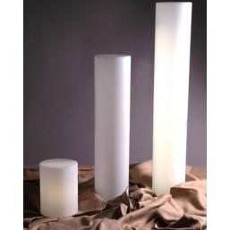 Цилиндр световой Cilindro Tav Bianco, h-40, base E12 (LPCIL041A)   SLIDE Италия