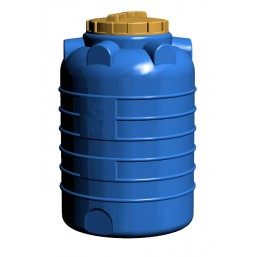 Емкость цилиндрическая вертикальная 1000 л, диам 1060 мм, выс 1465 мм