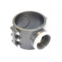 Седло зажимное с усиливающим кольцом 90X1-1/4˝ 1026090005