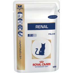 Влажный корм Royal Canin RENAL  BEEF CAT POUCH 1,2 kg ( говядина )