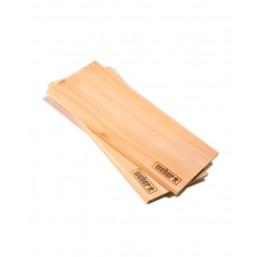 Weber кедровые доски для копчения -  (2 шт ) 17302