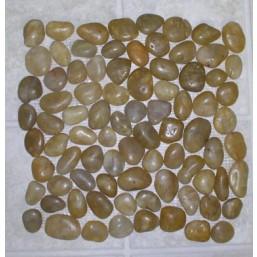 Галька желтая микс (средняя фракция 15-30мм) 20 кг WS-103