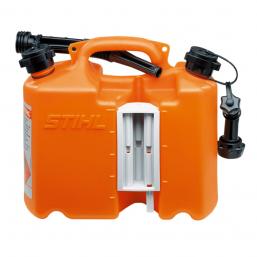 Комби-канистра оранжевая Профи-двойной бак для 5л горючего и 3л масла для пильной цепи+ 2 крепления инструмента и системы заправки не входят в комплект поставки) Stihl