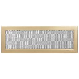 Решетка вентиляционная золотистая Dospel 17х49