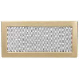 Решетка вентиляционная золотистая Dospel 17х37