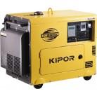 Дизельный генератор в тихом кожухе KDE6700TA+KPATS-26-3  KIPOR
