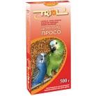 Е100 Триолл- Криспи-Просо корм корм для птиц 500 г
