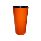 Кашпо Лилия 190мм, цвет оранжевый  Польша