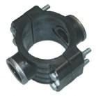 Двойное зажимное седло с усиливающим кольцом 90X1-1/2˝ 1027090006