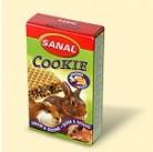 SK7700 SANAL (для грыз) Cookie (9шт) (Пирожное с медом из злаков в хрустящей вафле)