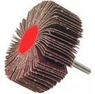 """Круг шлифовальный ЗУБР """"МАСТЕР"""" веерный лепестковый, на шпильке, тип КЛО, зерно-электрокорунд нормал (36602-080)"""