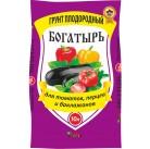 """Грунт Богатырь """"Для томатов, перца и баклажанов"""" 10 л"""
