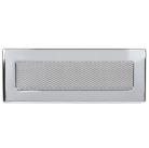 Решетка вентиляционная никелированная Dospel 11х32; 11х42