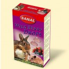 SK7400 SANAL (для грыз) Wild Berry Drops 45г (Лесная Ягода) (14шт)