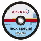1231905 отрезные диски по нерж. Стали AS 30 INOX 230x2,2x22,2 T41/FLAT Dronco