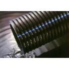 Дренажная полиэтиленовая гофрированная труба 110мм с фильтр.эл. EN 50086-2-4 (за 1пм)