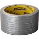 """Лента STAYER """"MASTER"""" """"UNIVERSAL"""" клейкая,армированная, влагостойкая, 48мм х 45м, металлик"""