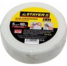 "Сетка STAYER ""PROFI"" армировочная стеклотканевая, самоклеящаяся, 2,85х2,85мм, 5см х 90м"