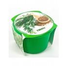 """Тмин """"Зелень круглый год"""" набор для выращивания BONTILAND (горшочек с крышкой, питательный субстрат, дренаж, семена)"""
