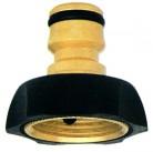 Адаптер 1433 латунно-резиновый   GF (Италия)