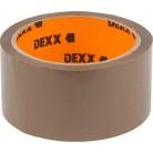 Лента DEXX клеящая упаковочная, коричневая, 40мкм, 48мм х 50м