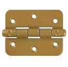 """Петля накладная стальная """"ПН-85"""", цвет золотой металлик, правая, 85мм"""